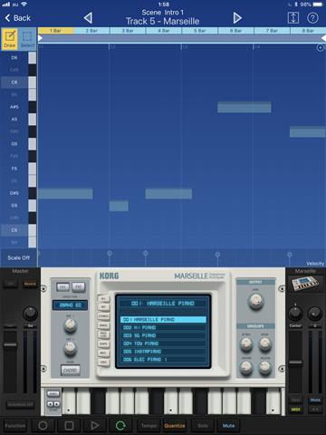 IMG 0096 thumb - 【レビュー】Korg Gadget for iOS/Mac(コルグガジェット)を使ってみた!最高のモバイル楽器コレクション、誰でもカンタン作曲!音楽制作が身近になるサウンド作成ソフトレビュー。
