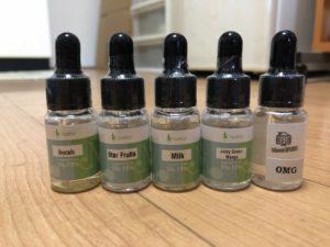 IMG 2398 1 300x225 - 【レビュー】初めて香料からリキッドを作ってみた。VAPELFさんの香料のレビューと、リキッド製作デビューの感想!