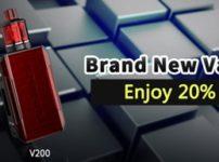 InsertPic 0757 thumb 202x150 - 【セール】Wismecブランドの最新VAPE MOD製品が20%オフ!「Wismec V200&V80スターターキット」いきなりVAPEのWismec新製品を2019年お安くゲットしちゃいましょう