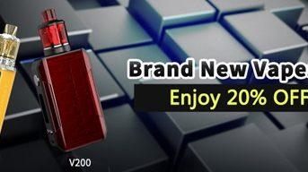InsertPic 0757 thumb 343x192 - 【セール】Wismecブランドの最新VAPE MOD製品が20%オフ!「Wismec V200&V80スターターキット」いきなりVAPEのWismec新製品を2019年お安くゲットしちゃいましょう