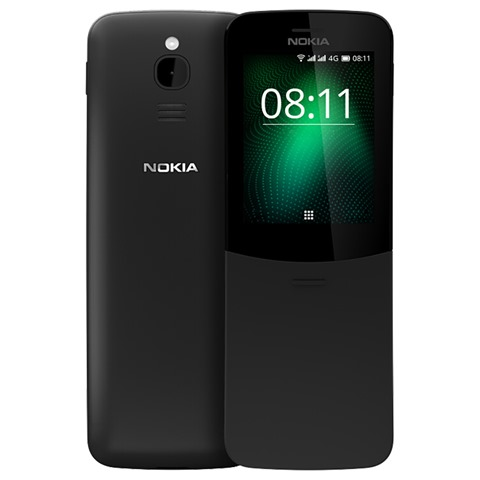 "Nokia 8110 2 4 Inch Mini Phone Black 814230 thumb 1 - 【海外】「MASKKING Pod System Kit 380mah」「Nokia 8110 2.4 Inch 4G LTE Mini Phone 512MB」「Protective Silicone Sleeve Case for JUUL Pods」「Iwodevape Replacement Glass Tank for Eleaf iJust NexGen Clearomizer」「ZTE nubia Z18 6"" Octa-Core LTE Smartphone (64GB/EU)」"