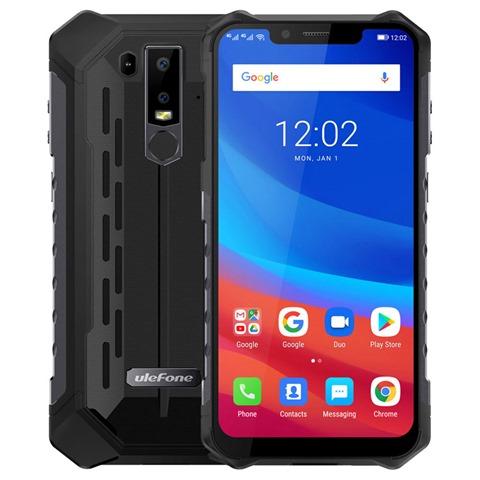 Ulefone Armor 6 6 2 Inch 6GB 128GB Smartphone Black 806631 thumb - 【海外】「Wismec SINUOUS V80」「Wismec SINUOUS V200」「FreeMax Twister 80W 2300mAh」「Eleaf Elven 15W 360mAh Pod System Starter Kit」「Joyetech ATOPACK Magic」