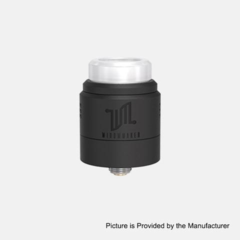 authentic vandy vape widowmaker rda rebuildable dripping atomizer w bf pin black stainless steel 24mm diameter thumb - 【海外】「MASKKING Nightingale Kit 1100mAh」「SXmini Mi Class 13W 400mAh」「OBS Cheetah 3 III RDA」「Vandy Vape Widowmaker RDA」