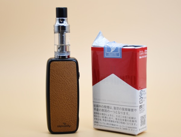 oDSC 7203 - 【レビュー】革デザインがカワイイ♪スターターキット。SMOOTH Starter Kit by vapeonly(ベイプオンリー・スムーススターターキット)レビュー