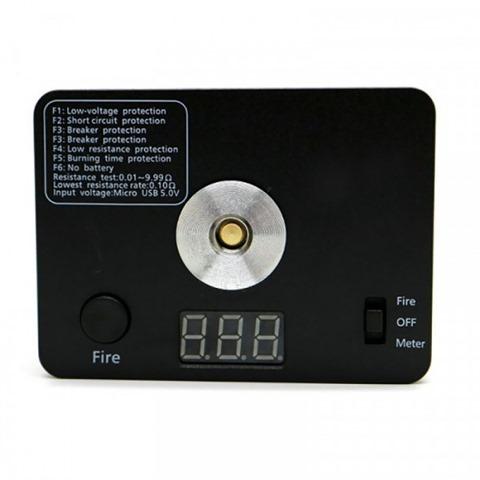 zp resistance tester ohm meter 521 mini tab ohm reader 3 thumb - 【海外】「Hammer of God V4 Style Box Mod」「ZELTU X AIO Pod System Kit 1000mah」「Yosta Livepor 100 TC Box Mod」