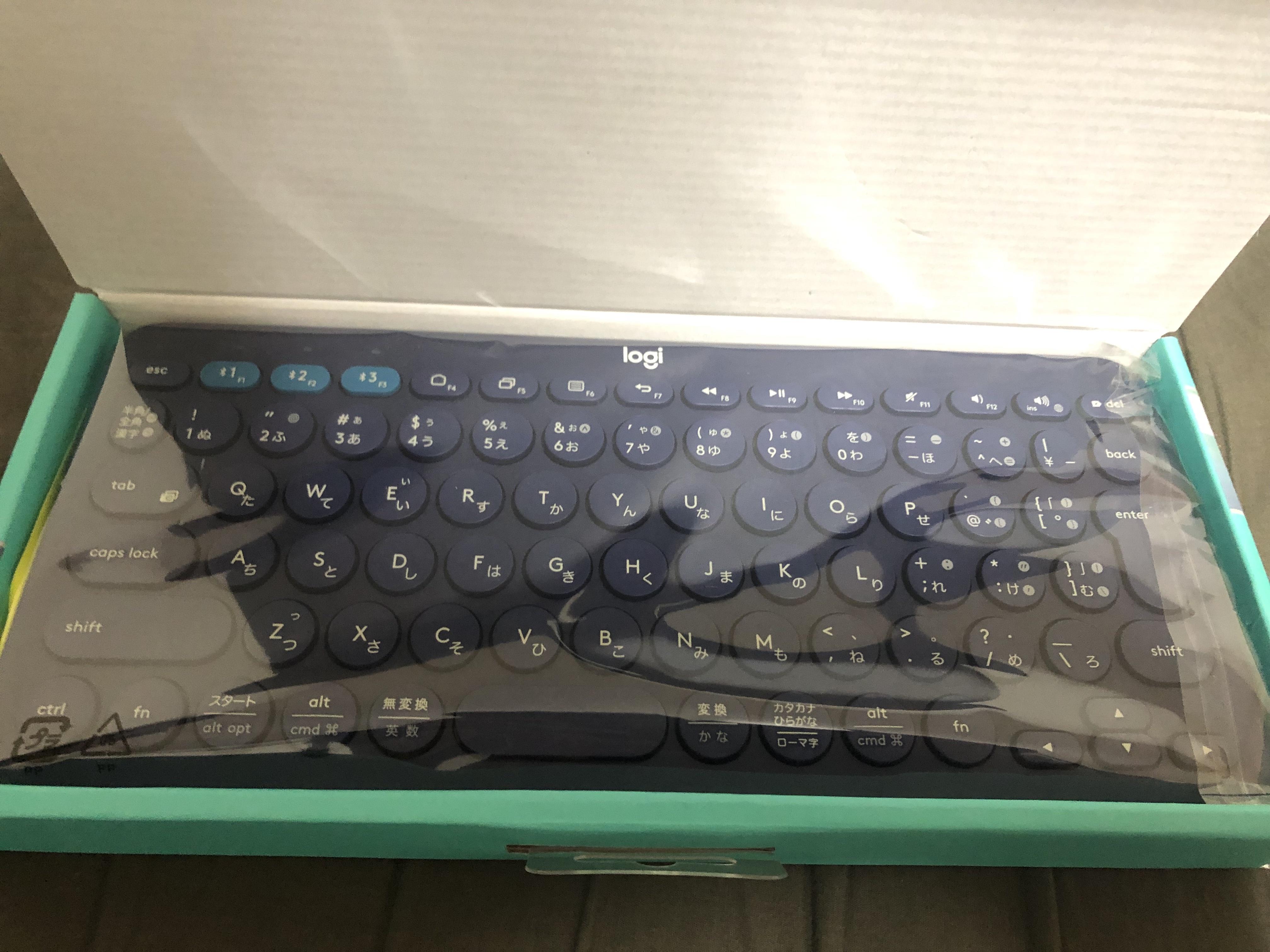 20181120 162040440 iOS - 【レビュー】タブレットにはやっぱりコンパクトキーボード!K380 MULTI-DEVICE BLUETOOTH KEYBOARDを選ぶべきな理由