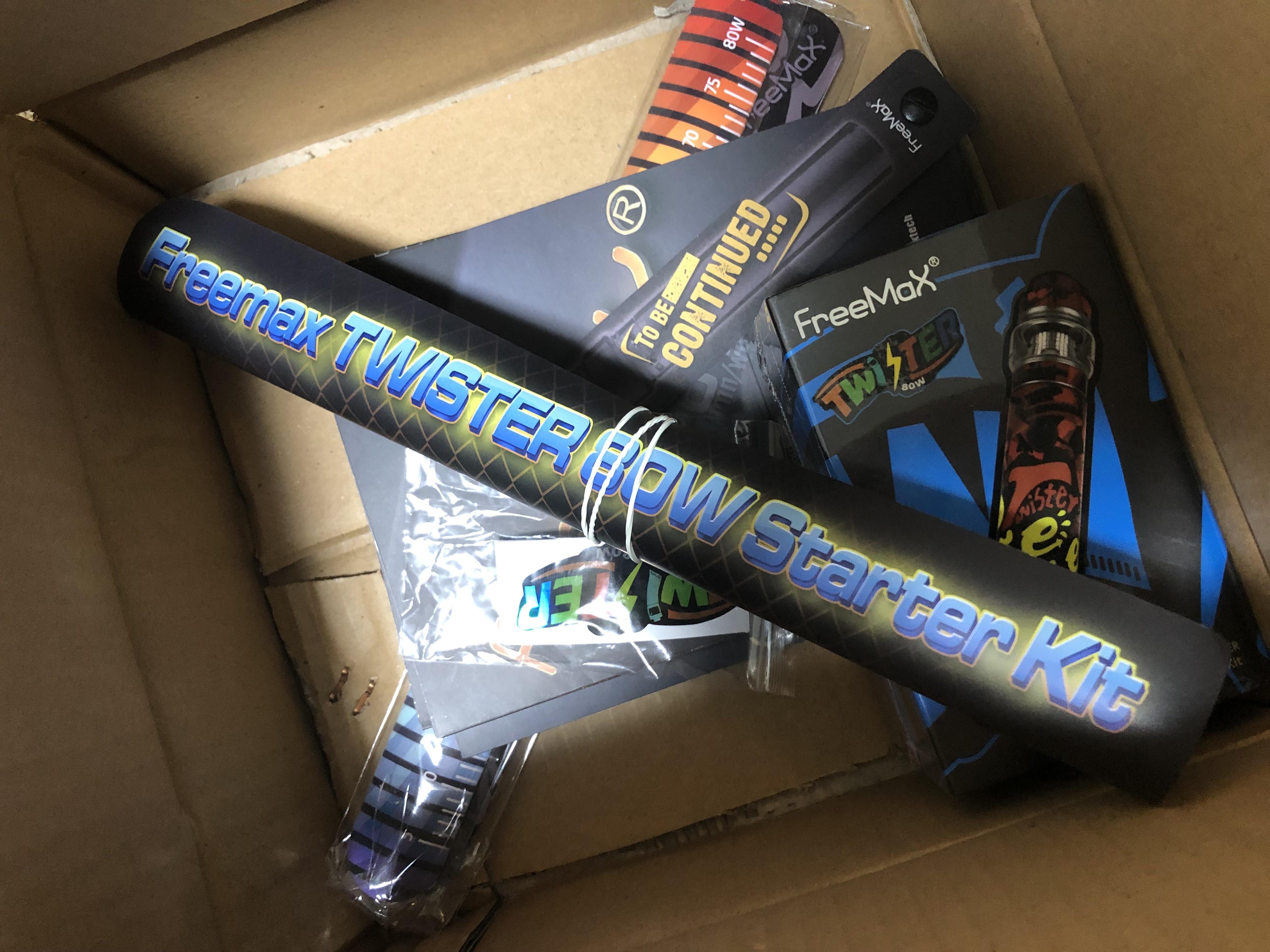 20190210 084831850 iOS - 【レビュー】Freemax社謹製!Twister 80W 爆煙 Starter Kit+タンクセットを吸ってFreemaxの本気モードを感じた