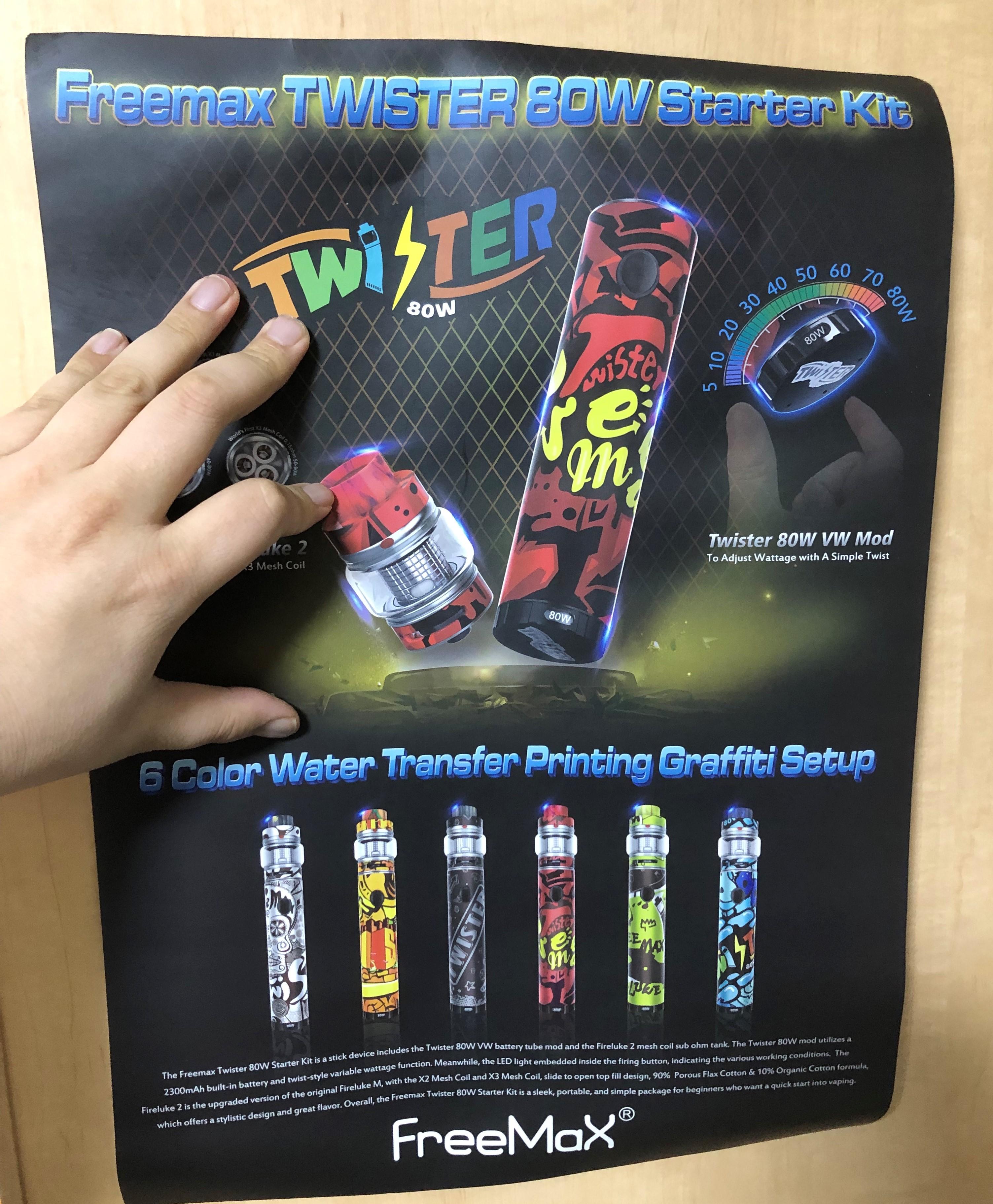 20190210 085138937 iOS - 【レビュー】Freemax社謹製!Twister 80W 爆煙 Starter Kit+タンクセットを吸ってFreemaxの本気モードを感じた