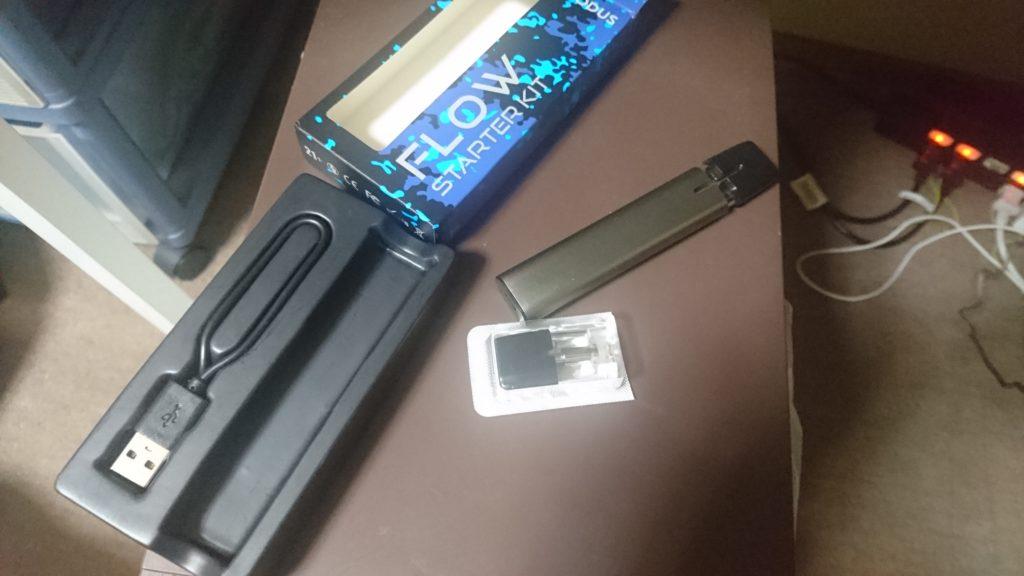 DSC 0015 1024x576 - 【レビュー】asMODus Flow STARTER KITをじっくり使用してみました。吸うだけ電源ONのお手軽VAPEシステム。