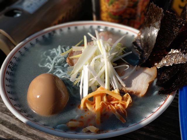 IMAG0893 thumb 1 - 【イベント】One Case主催の「カップラーメンバーベキュー交換」イベントに参加してゾンビ拉麺(ゾンビラーメン)を食べてきた話