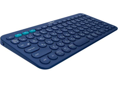 k380 blue logicool gallery 400x300 - 【レビュー】タブレットにはやっぱりコンパクトキーボード!K380 MULTI-DEVICE BLUETOOTH KEYBOARDを選ぶべきな理由