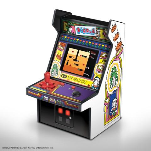 DIGDUG thumb - 【レビュー】男心くすぐり度MAX!?「レトロアーケード」コンパクトな4機種一挙レビュー「ディグダグ」「マッピー」「ギャラガ」「パックマン」 【アーケードゲーム機/筐体】