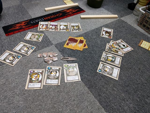 IMAG1087 thumb - 【訪問日記/レビュー】ある日のOne Case、カードゲーム「ラブレター」「ラブクラフトレター」「ドミニオン」「ふくろと金貨」レビュー。ライトセーバーちゃんばらとプルームテックプラスもあるよ!