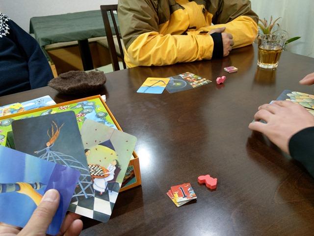 IMAG1156 thumb - 【訪問日記/レビュー】豊田のボードゲームカフェ「Planzone(プランゾーン)」さんでがっつりボドゲプレイ&レビュー。格安で長時間楽しめる聖地。One Caseの皆さんも遊びに来てくれました