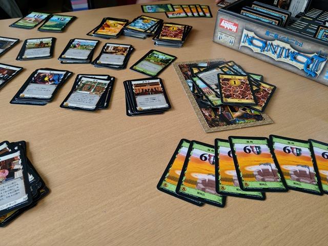 IMAG1224 thumb - 【訪問/レビュー】「ドミニオン(Dominion) 基本第2版」「NATIONAL ECONOMY(ナショナルエコノミー)」プレイレビュー@豊田のボードゲームカフェPlanzone(プランゾーン)さんでデッキ構築型カードゲームを遊ぶ