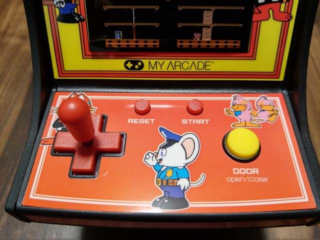 IMAG1310 thumb - 【レビュー】男心くすぐり度MAX!?「レトロアーケード」コンパクトな4機種一挙レビュー「ディグダグ」「マッピー」「ギャラガ」「パックマン」 【アーケードゲーム機/筐体】