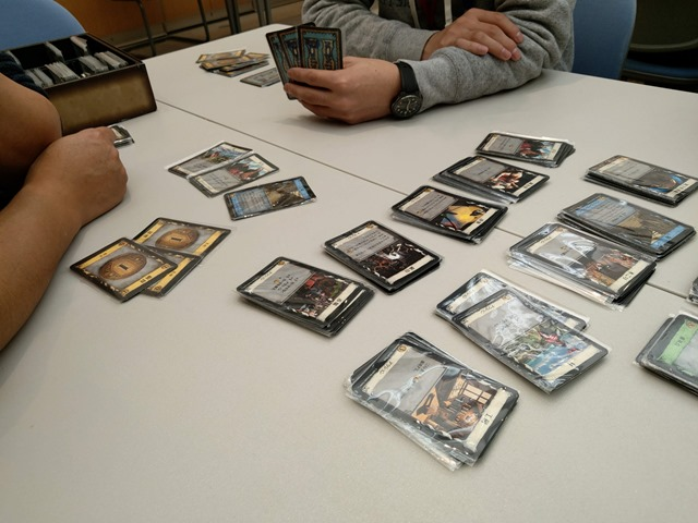 IMAG1345 thumb 1 - 【イベント】「第3回図書館でボードゲーム in 豊田市中央図書館」に行ってきたよ!ドミニオンやってきた&Planzoneさんに会ってきたレポート。【子供も大人もおねーさんも】