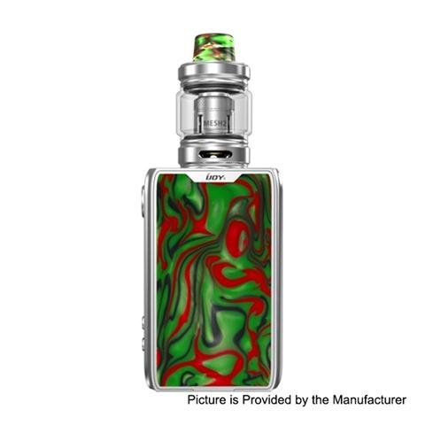 authentic ijoy shogun jr 126w 4500mah tc vw box mod shogun tank kit s specter green 5126w 6ml 02 ohm thumb - 【海外】「Aleader Orbit 100W TC VW APV Box Mod」「IJOY Katana RDA」「Voopoo X217 217W」「eXvape eXpromizer V4 MTL RTA」