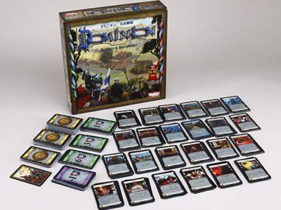 dominion basic components 400x300 - 【ボドゲ】面白いテーブルゲーム(2-4人用)【ボードゲーム/カタン/ドミニオン】