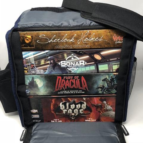 2018 09 23 20.32.36 thumb - 【レビュー】Top Shelf Fun「Game Haul: Game Night Bag」レビュー。ボードゲームを持ち運べるドミニオンにも便利なボドゲバッグ!