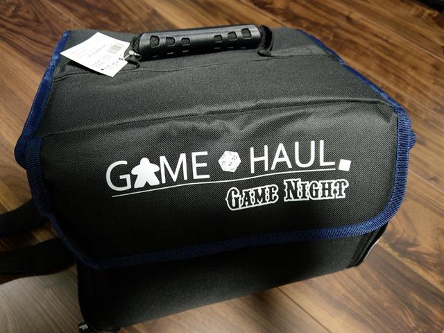 IMAG1541 thumb - 【レビュー】Top Shelf Fun「Game Haul: Game Night Bag」レビュー。ボードゲームを持ち運べるドミニオンにも便利なボドゲバッグ!