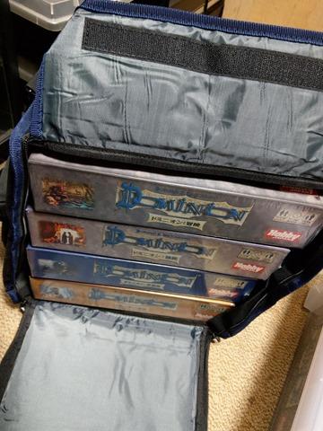 IMAG1544 thumb - 【レビュー】Top Shelf Fun「Game Haul: Game Night Bag」レビュー。ボードゲームを持ち運べるドミニオンにも便利なボドゲバッグ!
