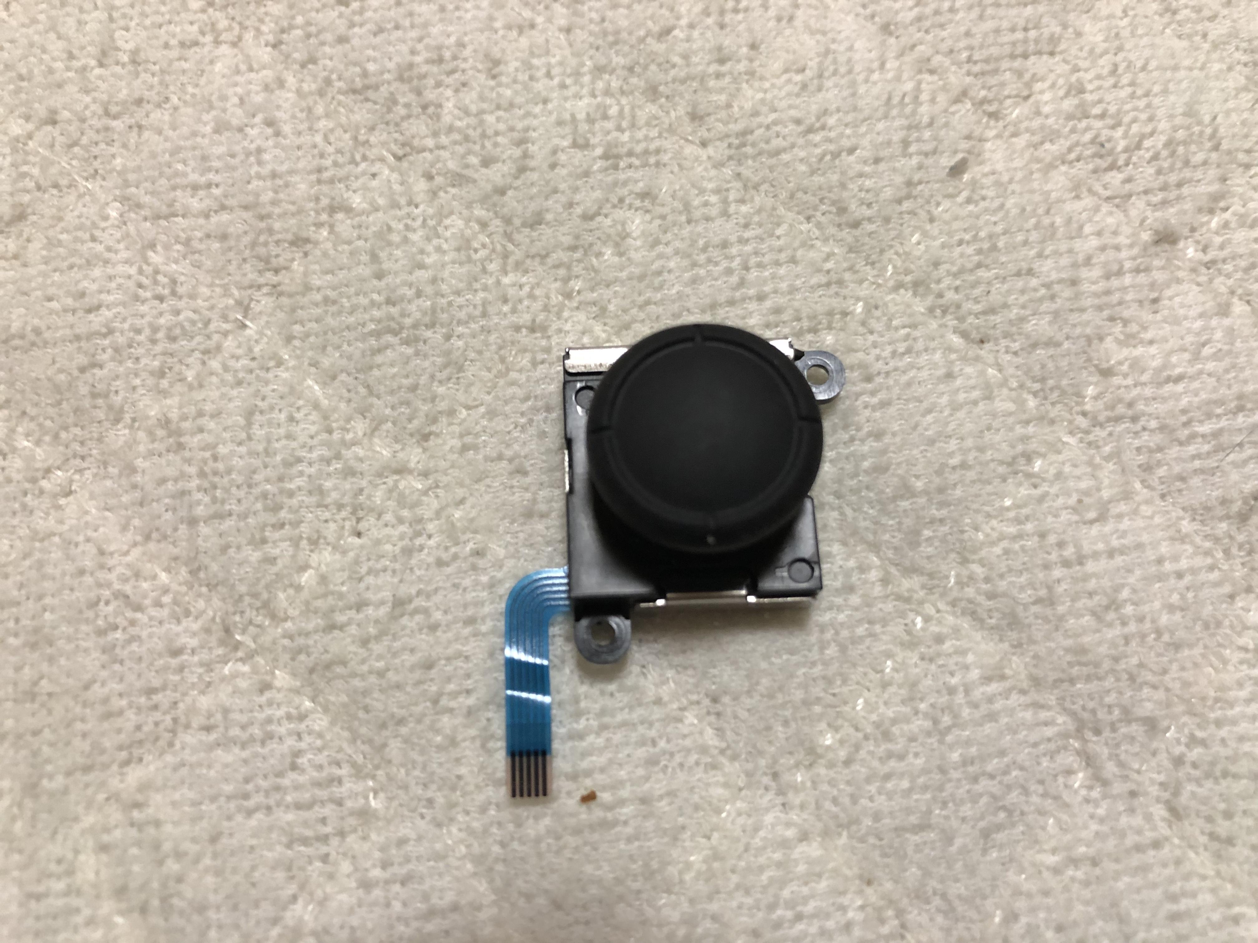 img 0365 1 - 【修理日記】Nintendo SwitchのJoy-Con 壊れたアナログスティックを部品取り寄せて自分で修理してみた。【ニンテンドースイッチ】