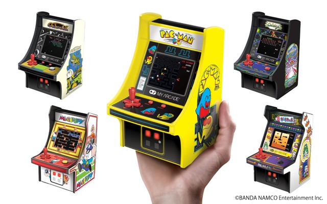 retro5kishu thumb - 【GIVEAWAY】レトロアーケードを一挙大放出プレゼント!自宅でゲームセンター気分が味わえちゃうゲームガジェット!【ゲーム】
