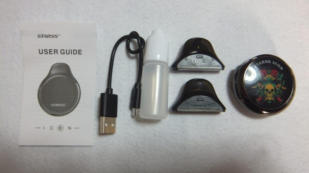 DSCF1912 1024x576 - 【レビュー】「STARSS ICON POD Kit」(ストラスアイコンポッドキット)レビュー独特な形状のポッドタイプ!あなたはこの形状とイラストは好き?嫌い?どっち!?