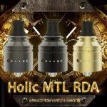 Holic MTL RDA 01 2 150x150 - 【レビュー】Vapefly Holic MTL RDAレビュー。あの人気ユーチューバー『ホリックTV』のこーへいさんとVapeflyのコラボアトマイザーが登場! 私も愛用しているGalaxiesシリーズのメーカーなので期待度大!
