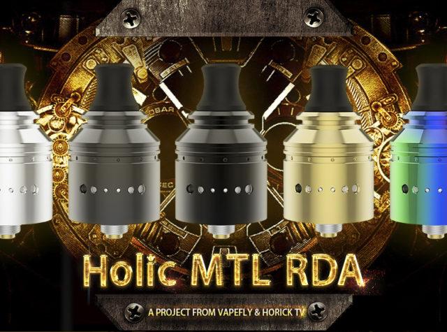 Holic MTL RDA 01 2 640x475 - 【レビュー】Vapefly Holic MTL RDAレビュー。あの人気ユーチューバー『ホリックTV』のこーへいさんとVapeflyのコラボアトマイザーが登場! 私も愛用しているGalaxiesシリーズのメーカーなので期待度大!
