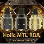 Holic MTL RDA 01 thumb 150x150 - 【レビュー】Vapefly Holic MTL RDAレビュー。あの人気ユーチューバー『ホリックTV』のこーへいさんとVapeflyのコラボアトマイザーが登場! 私も愛用しているGalaxiesシリーズのメーカーなので期待度大!