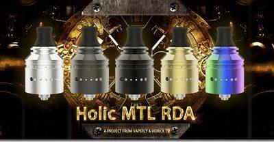 Holic MTL RDA 01 thumb 400x208 - 【レビュー】①Vapefly Holic MTL RDA(ベイプフライ ホリック エムティーエル )レビュー~ホリックTVコラボ第2弾RDA着弾♪開封編<*`∀´*>~