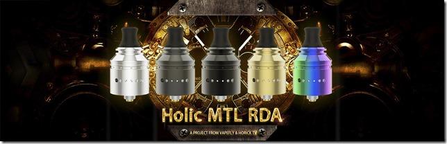 Holic MTL RDA 01 thumb - 【レビュー】①Vapefly Holic MTL RDA(ベイプフライ ホリック エムティーエル )レビュー~ホリックTVコラボ第2弾RDA着弾♪開封編<*`∀´*>~