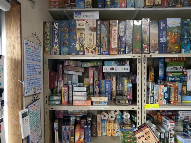 IMAG2059 thumb - 【訪問】ボドゲの聖地!?ゲームストア・バネストの中野さんからボードゲームを買ってきた話