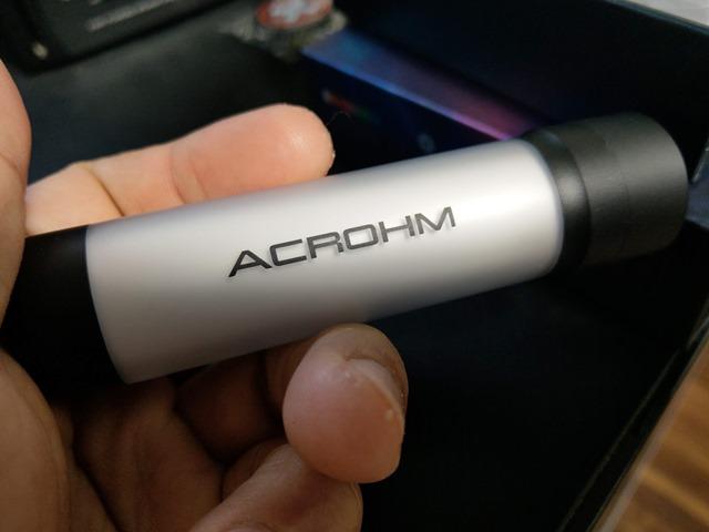 IMAG2483 thumb - 【レビュー】ACROHM FUSH SEMI MECH MOD(フッシュセミメカニカルMOD)レビュー。光るパリピなセミメカニカルチューブ!