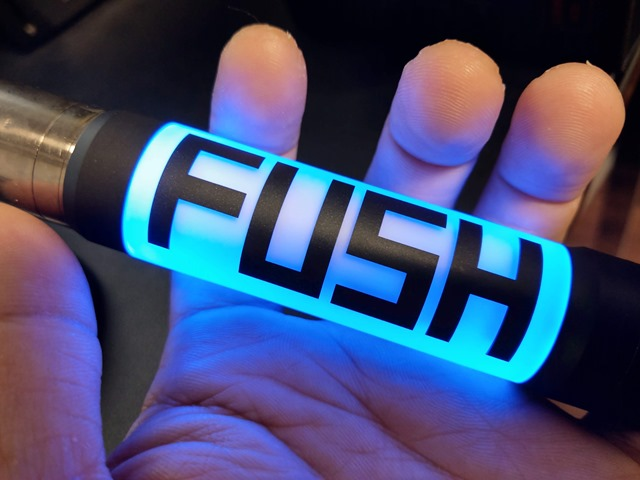 IMAG2487 thumb - 【レビュー】ACROHM FUSH SEMI MECH MOD(フッシュセミメカニカルMOD)レビュー。光るパリピなセミメカニカルチューブ!