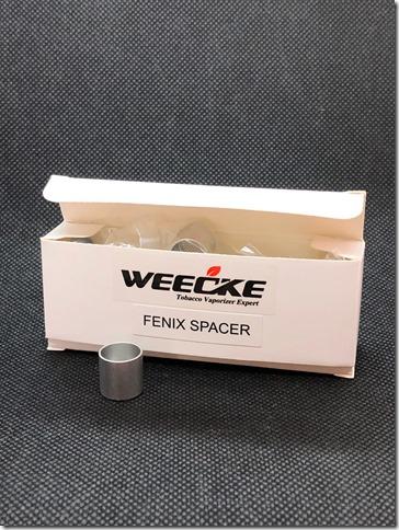 IMG 2319 thumb - 【レビュー】WEECKE FENIX+ FENIX SPACER(フェニックス➕&フェニックス スペーサー)レビュー実践編【ヴェポライザー】