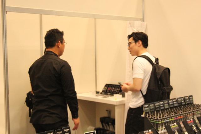 IMG 8872 thumb - 【イベント】VAPE EXPO JAPAN 2019 訪問ブース紹介レポート#08 Lost Vape(ロストベイプ)/One Case(ワンケース)/なにわ電子煙草燃料(なにわでんねん)/Dekang(デカン)/KEY MATERIAL/MEGMEET,SEMPO/ZHONGYI/HITASTE(ハイテイスト)/SAROME(サロメ)