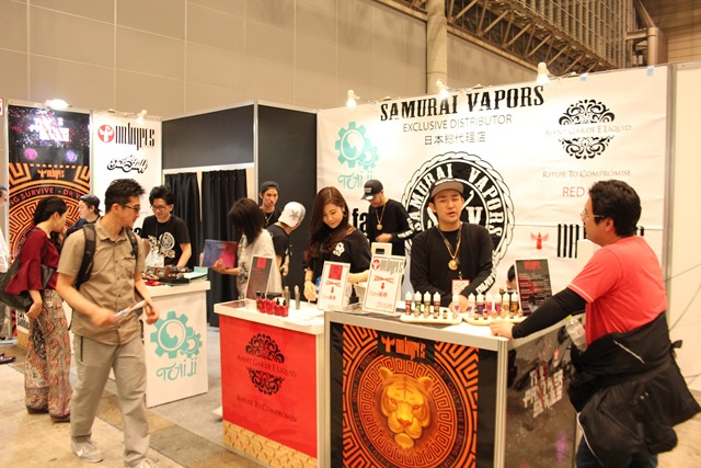 IMG 9035 thumb - 【イベント】 【イベント】VAPE EXPO JAPAN 2019 訪問ブース紹介レポート#05 NEWTAP/SHENZEN SKO/BANDITO JUICE/HILIQ/SAMURAI VAPORS/COEUS/Magical Flavour