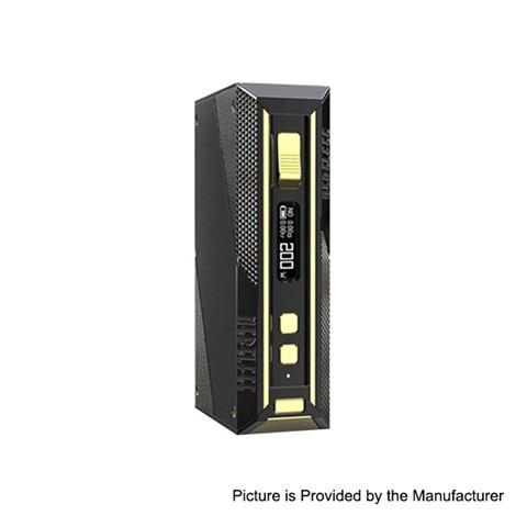 authentic ehpro cold steel 200 tc vw variable wattage box mod black gold stainless steel 5200w 2 x 18650 thumb - 【海外】「Acevape MK RTA」「Vaporesso Renova Zero 650mAh」「Kamry X POD 280mAh Pod System Starter Kit」「Ehpro Cold Steel 200 TC VW Variable Wattage Box Mod」