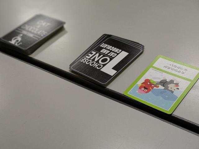 IMAG3545 thumb - 【イベント】まめoffでボードゲーム@名古屋大須観音!「The Game(ザ・ゲーム)」「我流功夫極めロード」「キャット&チョコレート ガチャピンチャレンジ編」「王たちの同人誌」
