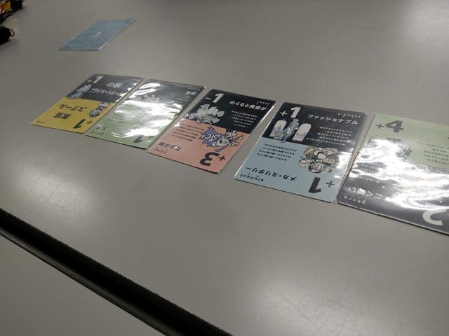 IMAG3550 thumb - 【イベント】まめoffでボードゲーム@名古屋大須観音!「The Game(ザ・ゲーム)」「我流功夫極めロード」「キャット&チョコレート ガチャピンチャレンジ編」「王たちの同人誌」
