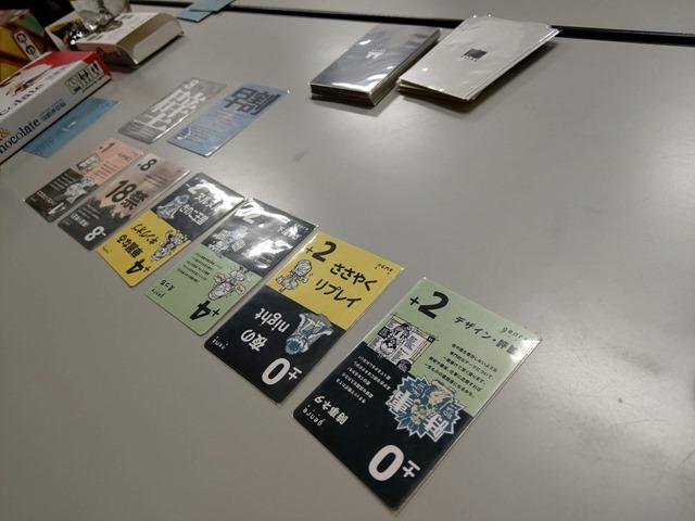 IMAG3552 thumb - 【イベント】まめoffでボードゲーム@名古屋大須観音!「The Game(ザ・ゲーム)」「我流功夫極めロード」「キャット&チョコレート ガチャピンチャレンジ編」「王たちの同人誌」