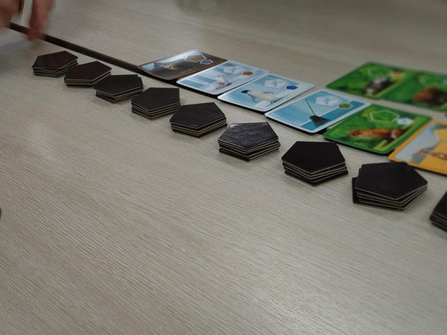 IMAG3654 thumb - 【訪問/レビュー】きなボド!(北名古屋市ボードゲーム会)で遊んできた「プラネット・メーカー」レビュー。【北名古屋市健康ドーム/ボドゲ/アナログゲーム】