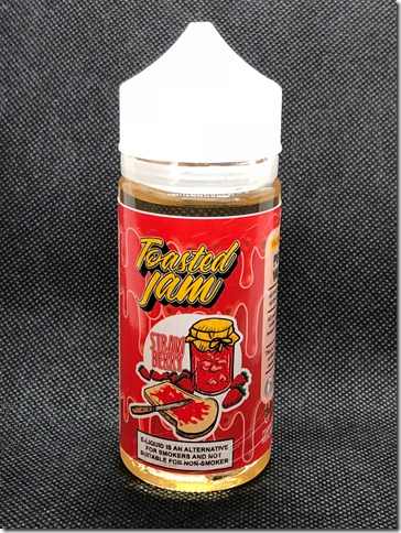 IMG 2405 thumb 1 - 【レビュー】Toasted jam straw berry(トーステッド ジャム ストロベリー)~これはもしや…ジャムモンの…編(ΦдΦ)~【リキッド】