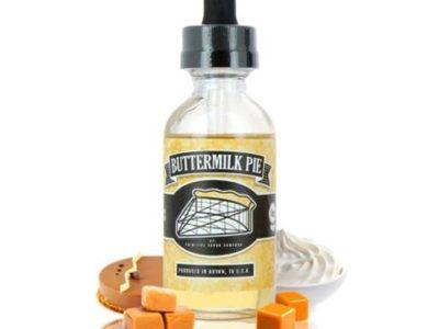 buttermilk pie 60ml primitive vapor co xsmokers.gr thumb 400x300 - 【レビュー】Primitive Vapor Co BUTTERMILK PIE(バターミルクパイ)リキッドレビュー。あま~い!バターミルクが脳髄を刺激するお味