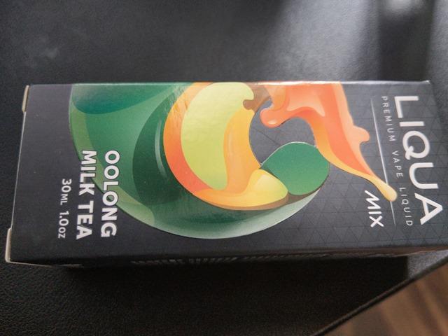 IMAG4996 thumb - 【レビュー】LIQUA OOLONG MILK TEA(リクア・ウーロンミルクティー)リキッドレビュー!ウーロン茶とミルクのミックス。【Fenrir Vape/フェンリルベイプ】