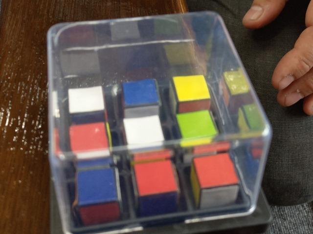 IMAG5540 thumb - 【訪問】ルービックキューブみたいなスライド対戦パズルボードゲーム「Rubik's Race(ルービックスレース)」で遊ぶ@名古屋One Case(ワンケース)訪問レポート