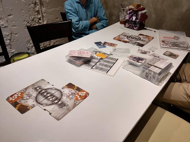 IMAG5612 thumb - 【訪問/レビュー】静岡駅近く!ボードゲームカフェ「game cafe BINGO」で「桜降る代に決闘を」体験会させてもらってきた!【ボードゲーム/グルメ】